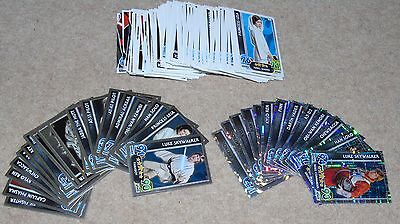 153 STAR WARS FORCE ATTAX TRADING CARDS TOPPS 2015 rare Princes Leia Han Solo +