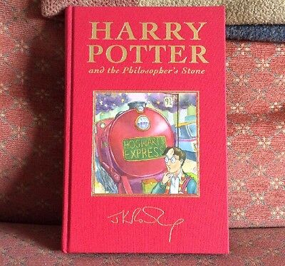 Harry Potter An The Philosophers Stone Deluxe Edition 1st