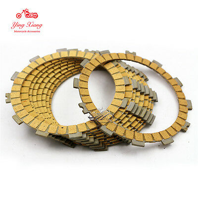 8pcs Clutch Friction Plate For Suzuki GSXR1000 K5 K7 K9 GSXR600/750 06-10 K6 K8