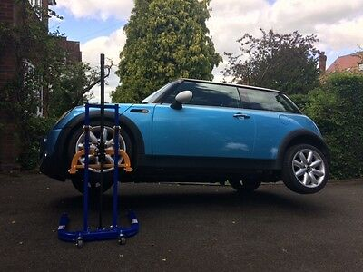 Mobile Car Lift - Manual Ratchet Operated - No Electric Or Air Needed