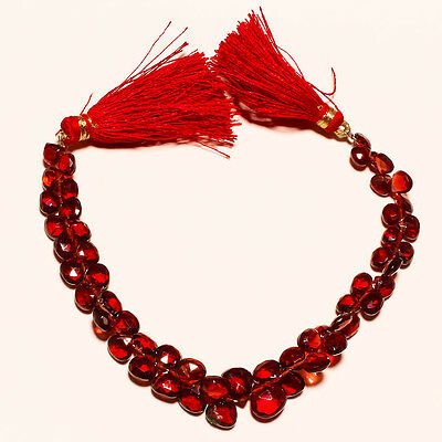 FACETED NATURAL GARNET BEADS 66 Ct.