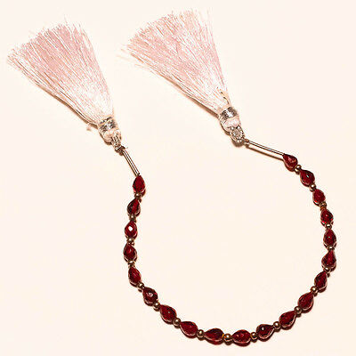 FACETED NATURAL GARNET BEADS 26 Ct.