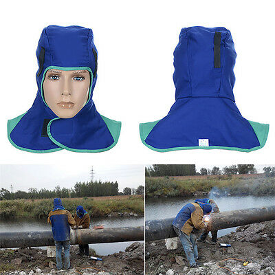 Flame Retardant Welding Neck Face Protection Hood Welder Head Cover Safety Cap