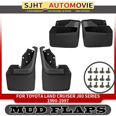 4x Splash Guard Mud Flaps for Toyota Landcruiser 80 Series 1990-1997 Front&Rear
