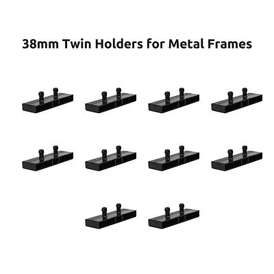 38mm Twin Plastic Bed Slat Holders / Caps for Metal Bed Frames - Free Delivery