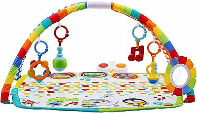 Fisher Price Baby's Bandstand Activity Gym And Play Mat