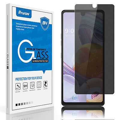 Privacy Anti-Spy Tempered Glass Screen Protector For LG Stylo 4/ Stylo 3/3 Plus