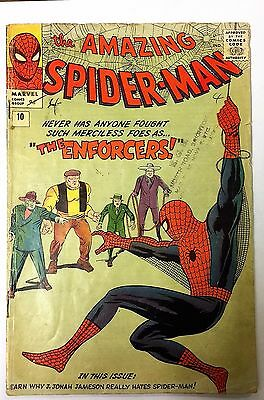 Amazing Spider-Man 10. 1964. First Appearance Of The Enforcers