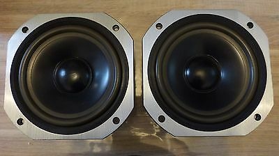 2x woofer manocor spp-225 boomer vintage occasion nice condition