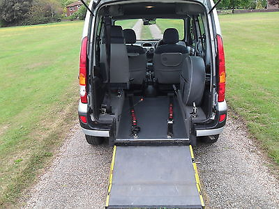 2008 Renault Kangoo Expression 1.6 Automatic Wheelchair Adapted Mobility Vehicle