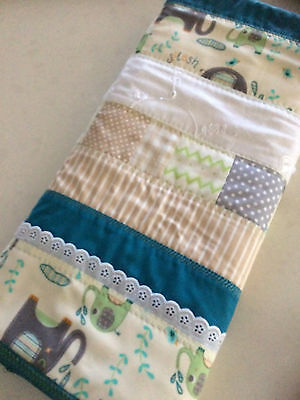 NEW Handmade Baby Blanket/Quilt for Pram, Car, Kick mat Unisex Boy or Girl