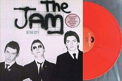 The Jam - In The City ~ Limited Edition US Reissue Red Vinyl LP ~ New & Sealed