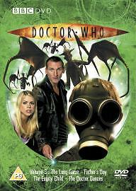 Doctor Who-Dvd-Vol 3-4 Episodes-Brand New Sealed