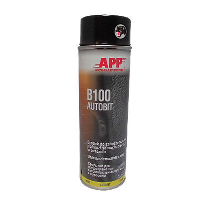 App B100 UNDERBODY COATING SPRAY 500ml/ gbstv
