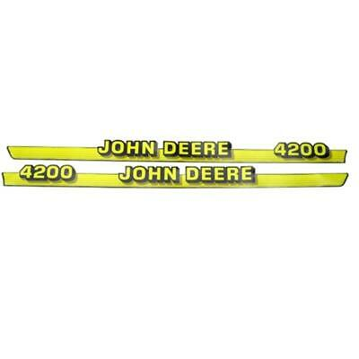 John Deere Hood Trim Decal Set - M116986 M116987 - 4200