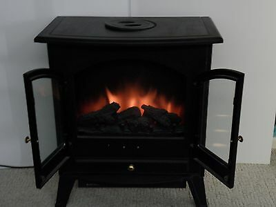 Manor Galaxy Freestanding  Electric Fire Good Condition. ( Collect Newquay Area)