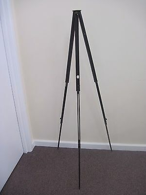 Vintage Antique The Jaynay Quickset Folding Wooden Tripod 3 Stage