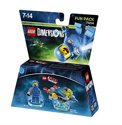 Toys-Lego Dimensions: Fun Pack - Lego Movie Benny /Video Game Toy  GAME NEW