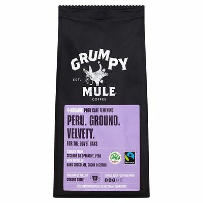 Grumpy Mule Organic Peru Ground Coffee 227g