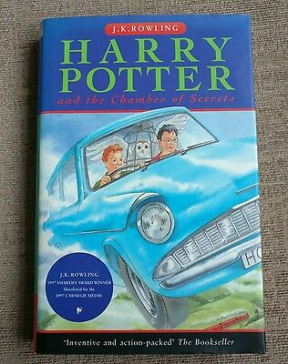 Harry Potter and the Chamber of Secrets 1st UK Edition 1st Print HB Bloomsbury