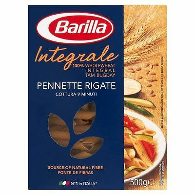 Barilla Whole Wheat Pennette Rigate 500g