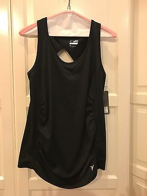 Old Navy ACTIVE Maternity Top Black Size Small