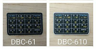 Replacement keyboard Casio DBC-61 & DBC-610