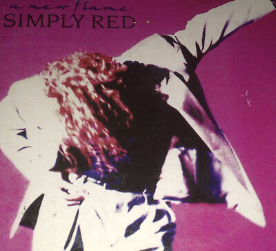 Simply Red A New Flame Card Sleeve CD Rare 1989 Mick Hucknall Only Love Enough