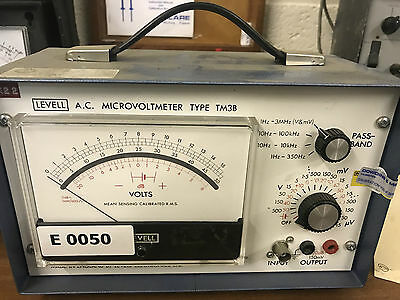 Levell A.C. Microvoltmeter Type TM3B (147)