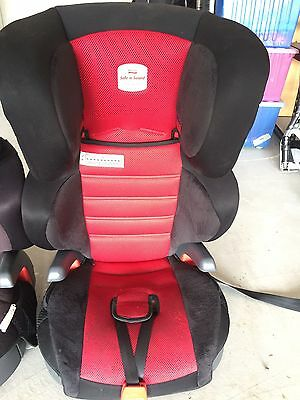 Car Seat Toddler Safe n sound Hi liner SG Red