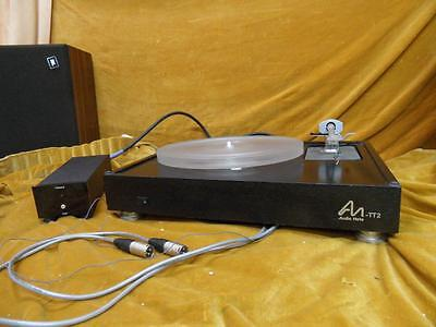 AUDIONOTE TT2 TURNTABLE with audionote tonearm 2 series 2, silver wired