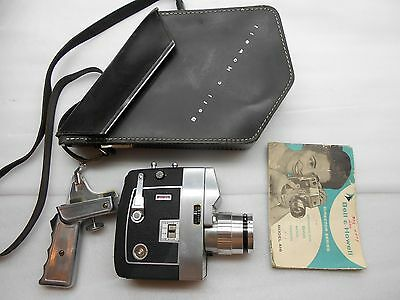 Vintage BELL & HOWELL ZOOMATIC Director Series 8mm Movie Camera 416 Zapruder JFK