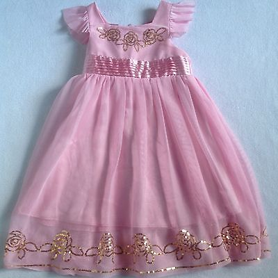 ORIGAMI BABY GIRLS Pink Dress SIZE 1