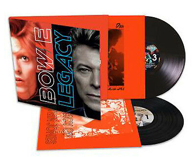 DAVID BOWIE LP x 2 Legacy - The Very Best Of 180gm Audiophile Vinyl NEW & SEALED