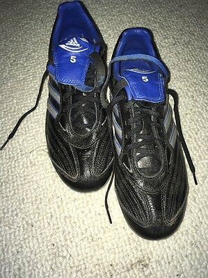 rugby boots Adidas Size 7 Steel Caps