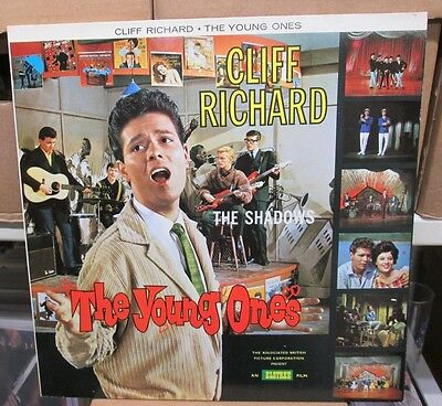 LP - Cliff RICHARD & SHADOWS - THE YOUNG ONES - dutch RE-ISSUE - PS