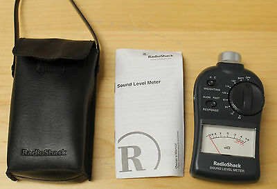 RadioShack Sound Level Meter 33-4050
