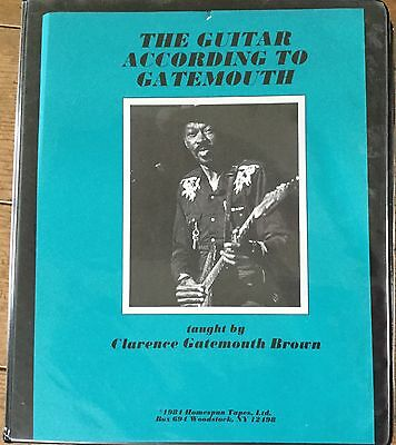 (Cassette) CLARENCE GATEMOUTH BROWN - The Guitar According To.. / 3 Tape + Book
