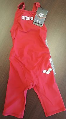 Girls Arena Powerskin junior swimming race performance costume - BNWT - size 24