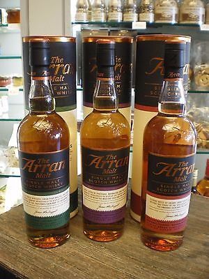 Whisky Arran Cask Finish (Amarone, Madeira, Sauterne)