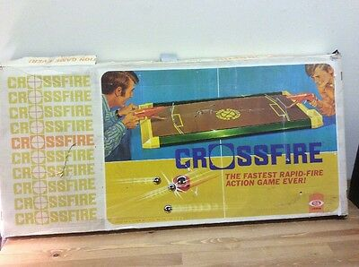 Crossfire Game 1970's Vintage. Not Complete.