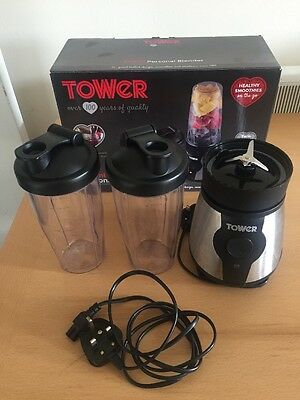 TOWER T12024 800ml PERSONAL SMALL BLENDER JUICE SMOOTHIE MAKER