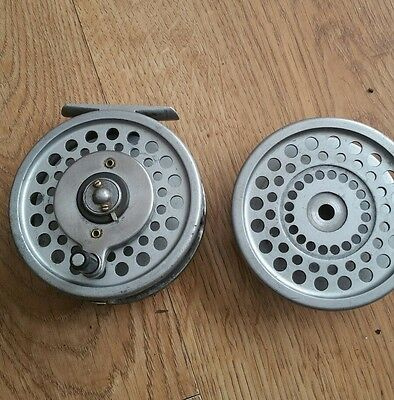 Hardy Marquis 8/9# Multiplier Trout Fly Reel + S/spool