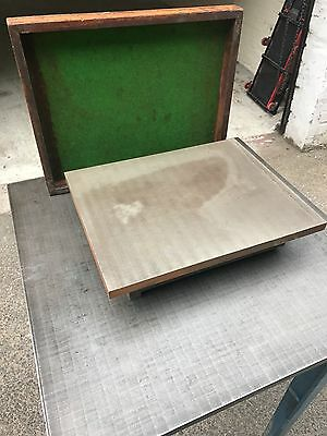 """Engineers Surface Plate 15"""" x 12"""" Cast Iron for Marking Out"""