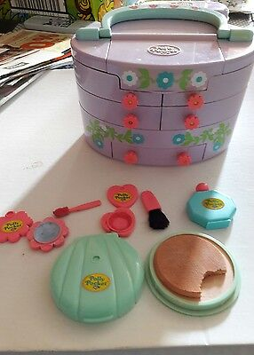 polly pocket vanity pullout playhouse