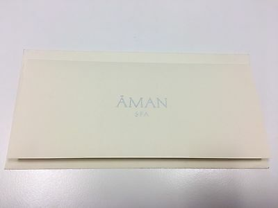 Gift Certificate, Aman Spa Connaught Hotel, Mayfair London - worth £170