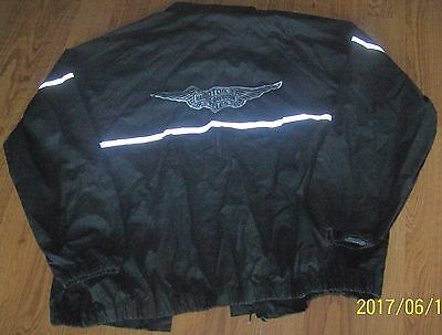 Harley Davidson Rain Gear Top Size Men's 2XL Unisex, Extra Extra Large Glow Stri
