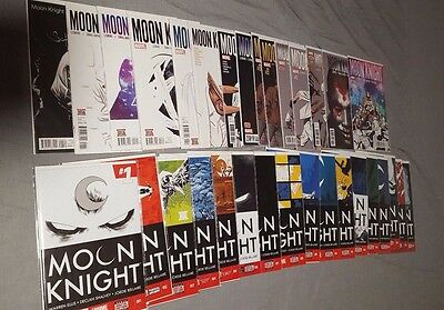 Moon Knight Comic Lot of 32. Please Read Description.