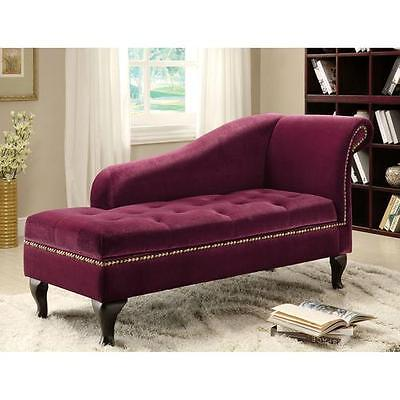 Coral Chaise Lounge with Storage Hokku Designs FREE SHIPPING (BRAND NEW)