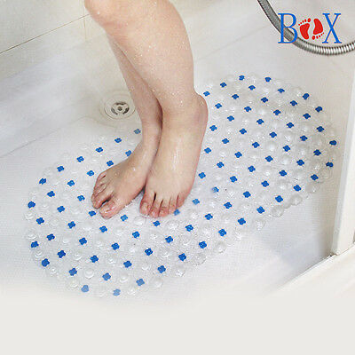 New Plastic PVC Non-Slip Mat Shower Bathroom Bubble Mat Bath Home Floor